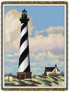 Lighthouse Interior Design | ... Lighthouse Tapestry Throw Blanket | Shop home, interior_design