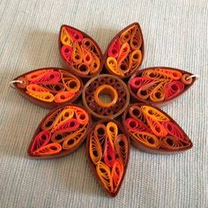 Quilled Paper Sunflower Necklace Tutorial - PAPER CRAFTS, SCRAPBOOKING & ATCs (ARTIST TRADING CARDS)
