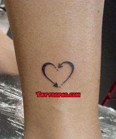 heart tattoos, tattoo designs and fishing hooks. #tattoo #tattoos #ink