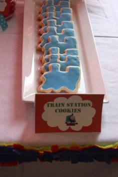 """Photo 8 of 32: Thomas the Train / Birthday """"Carter's 2nd Birthday"""" 