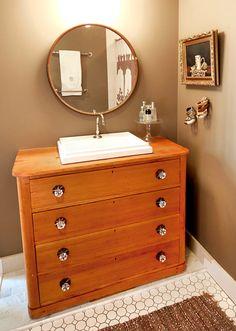 Repurpose an old dresser.