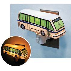 NYC MTA bus nightlight