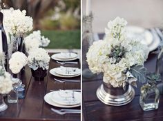 A bit modern + a bit vintage for your wedding
