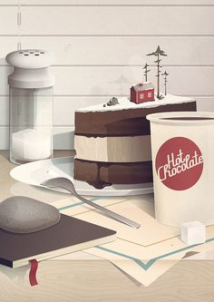 nice illustration #illustrations Pinterest News by @a_iki