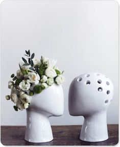 Head vases. Like rea