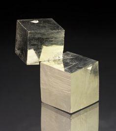 Pyrite - Ampliacion a Victoria Mine, Navajun, La Rioja, Spain Size: 7.0 x 6.0 x 4.0 cm (small cabinet)