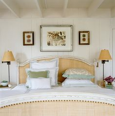 wednesday white warmth painted wood, bedroom decor, headboard, beds, beach bedrooms, white walls, bedroom design, hous, linen