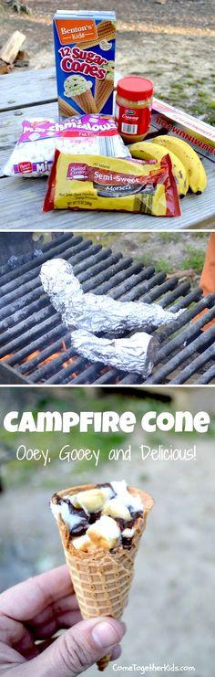 Campfire Cones | Recipe By Photo