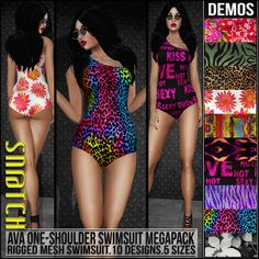 Sn@tch Ava Swimsuit Megapack Vendor Ad LG | Flickr - Photo Sharing!