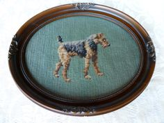 ORIGINAL PINNER SAYS: Vintage needlepoint that I purchased at an antique store, around 1983.