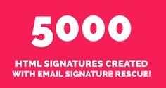 signatur design, awesom custom, design templat, email signatur
