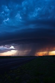 Nebraska Storm by szwishenshiba82, via Flickr; Scotts Bluff, Nebraska