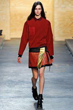 wrap skirt at Proenza Schouler