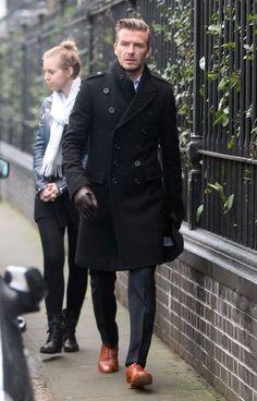 Style Icon David Beckham.