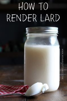 """Wow! I didn't know that lard is about 45% oleic acid, the """"heart healthy"""" monounsaturated fat also found in olive oil. This post shares a si..."""