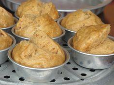 Huat Kueh- Chinese brown sugar steamed cake #fatt kueh
