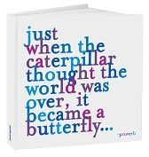 clever quot, butterflies, journal cover, inspir, home gifts, homes, summer quotes, blues, caterpillar thought
