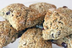{RECIPE} Steel Cut Oatmeal Scones with Dried Plums... Yum!   Catch My Party (Recipe calls for Buttermilk)
