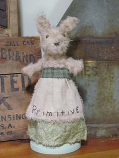 Primitive rabbit make do