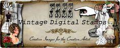 Free Vintage Digital Stamps