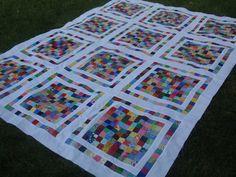 100 Patch Quilt Tutorial