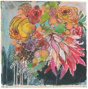 """Image of flowers for lady 24""""x24"""". would look awesome on my gray walls"""