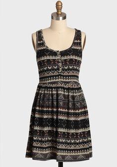 Snowed In Sweater Dress | Modern Vintage Ruchette