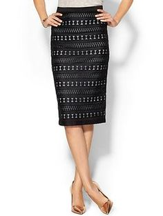 Search for Sanity Lace Midi Skirt