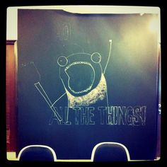 Our pantry blackboard goes live
