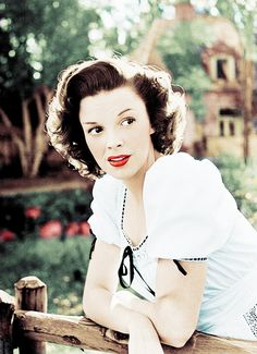 Judy Garland photographed at her home by Bob Landry, 1944.
