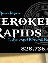 Cherokee Rapids River Tubing - Cherokee NC - Kayaking - Oconaluftee River  Would love to do this
