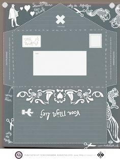 free printable envelop