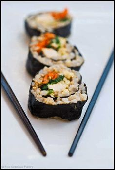 Clean Eating Sushi