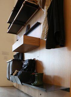 custom kitchens, mudroom, detail, organ, shelving, storag system, henrybuilt, design, crafts