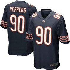 $59.99 Youth Nike Chicago Bears #90 Julius Peppers Game Team Color Blue Jersey