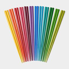 Rainbow Chopsticks Set | MoMAstore.org