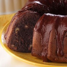Choco-Holic Cake..Chocolate, Chocolate, Chocolate is what this cake is made of! Sour cream and pudding mix enrich and make this cake moist and delicious.