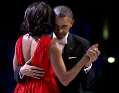 """I've got a date with me here. She inspires me every day. She makes me a better man and a better president.""   Barack and Michelle Obama"
