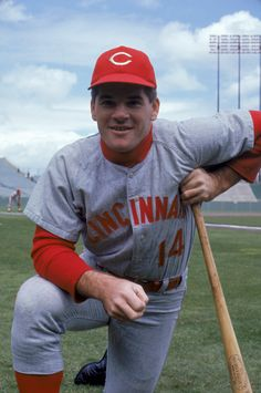 A young Pete Rose