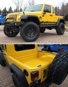 Jeep JK-8 Independence Pickup Truck Conversion