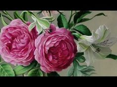 flowers oil paintings