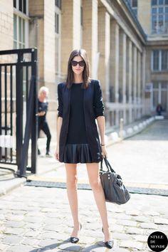 Daiane Conterato Street Style Street Fashion by STYLEDUMONDE Street Style Fashion Blog http://www.styledumonde.com/2014/06/paris-fw-ss14-street-style-daiane-conterato/