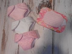 Bitty Baby Doll Diapers Wipe Case and Wipes  Just by LimeSewda