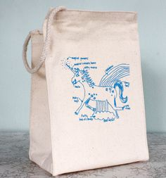 Image of Magical Unicorn - eco-friendly lunch bag