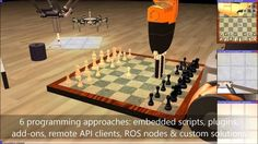▶ Robot Simulator: V-REP Demo Video January 2014 - YouTube