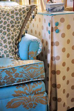Table skirts on pinterest 414 pins - Interior designers greenville sc ...
