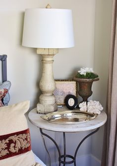 for the love of a house: baluster lamps