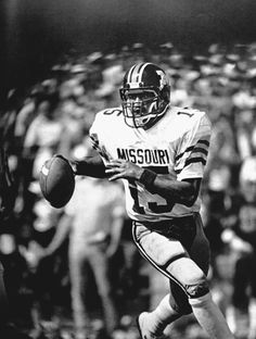 Phil Bradley lettered in football and baseball at #Mizzou, and went on to play in the major leagues.