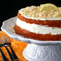 By special request, I've made over the Olive Garden's Lemon Cream Cake to be low carb and gluten free.