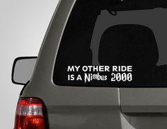 I want this bumper sticker